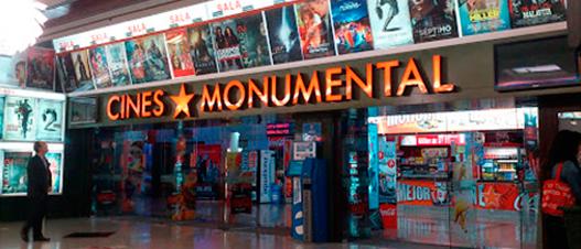Cines monumental cines de almer a - Cartelera terrazas aguadulce ...